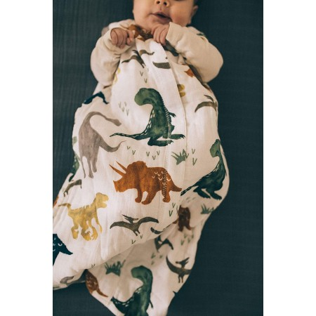 GIGOTEUSE NAISSANCE MOUSSELINE COTON taille S DINO FRIEND LITTLE UNICORN