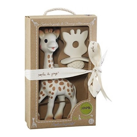 COFFRET SO'PURE SOPHIE LA GIRAFE ET CHEWING RUBBER VULLI