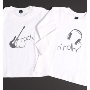 2 T-shirts Rock N'Roll