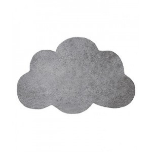 TAPIS COTON FORME NUAGE BLANC LILIPINSO