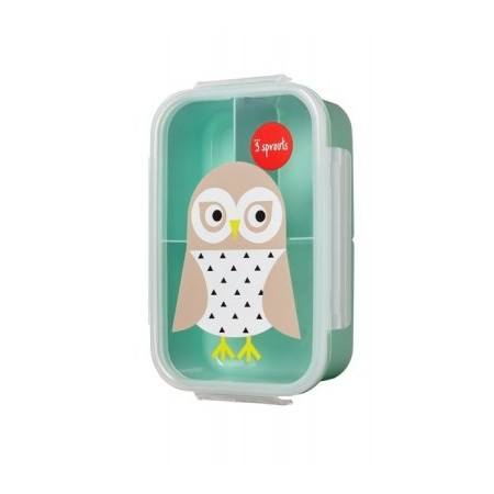 BOITE A GOÛTER LUNCHBOX CHOUETTE 3 SPROUTS