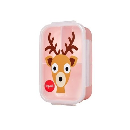 BOITE A GOÛTER LUNCHBOX CERF 3 SPROUTS