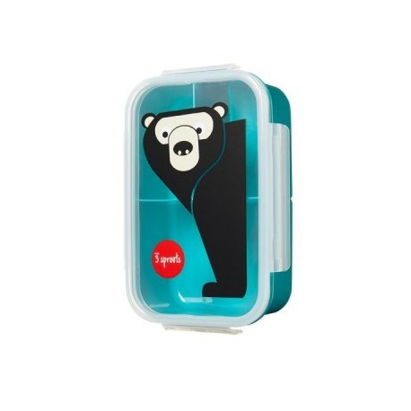 BOITE A GOÛTER LUNCHBOX OURS 3 SPROUTS