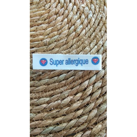 Bracelet *Super Allergique* Superman