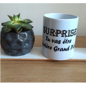 Mug blanc *SURPRISE ARRIERE GRAND PERE*