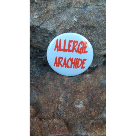 Badge *Allergie OEUFS*