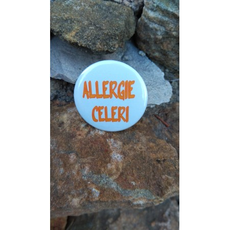 Badge *Allergie MOUTARDE*