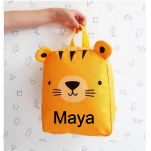 PETIT SAC A DOS TIGRE A LITTLE LOVELY COMPANY