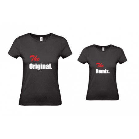 1 T-Shirt Papa & 1 T-Shirt Enfant The Original