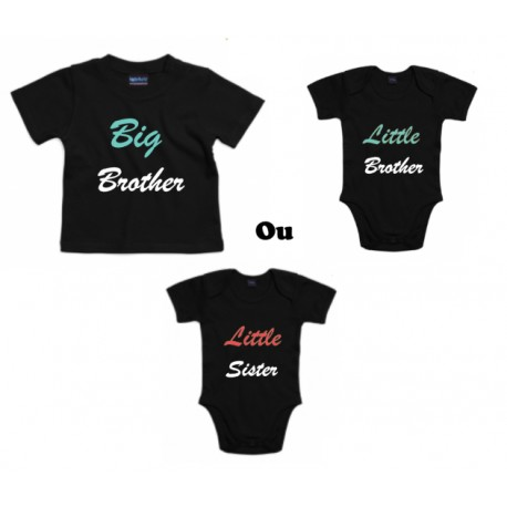 Duo Big Brother / Little Brother ou Little Sister