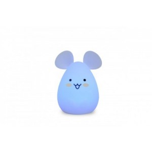VEILLEUSE SILICONE SOURIS LIGHTS 4 KIDS