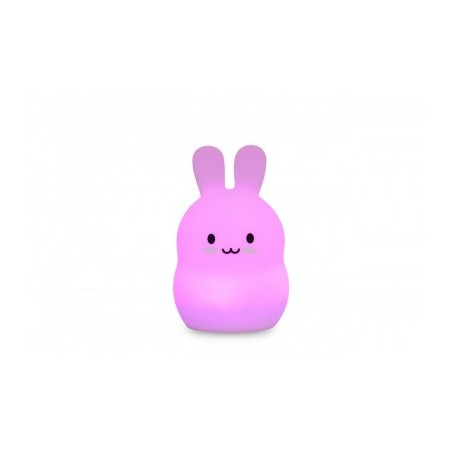 GRANDE VEILLEUSE SILICONE LAPIN LIGHTS 4 KIDS