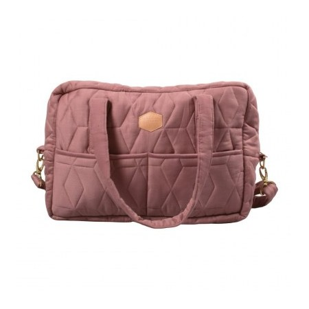 SAC A LANGER SOFT QUILT MOMMY BAG FILIBABBA Wild Rose