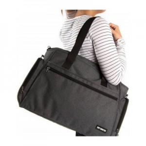 SAC A LANGER BABY MONSTERS GRIS ANTHRACITE